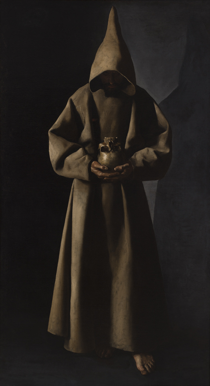 Saint Francis Of Assisi In His Tomb Milwaukee Art Museum