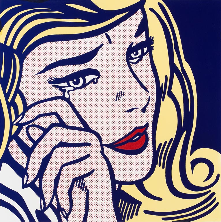 Crying girl milwaukee art museum - Roy lichtenstein obras ...